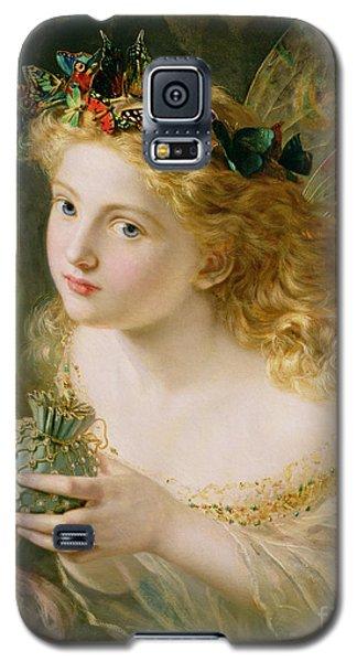Take The Fair Face Of Woman Galaxy S5 Case