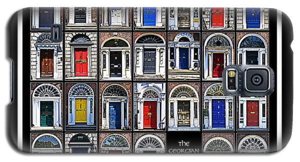 The Georgian Doors Of Dublin Galaxy S5 Case