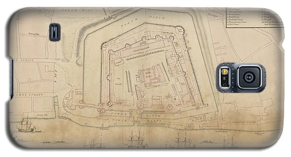 Tower Of London Galaxy S5 Case - The Tower Of London by British Library
