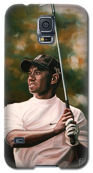 Tiger Woods  Galaxy S5 Case by Paul Meijering