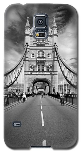 Galaxy S5 Case featuring the photograph Tower Bridge In London by Chevy Fleet