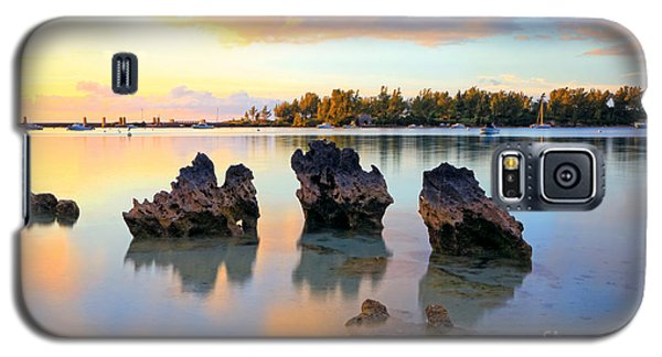 Tranquil Beach Galaxy S5 Case by Charline Xia
