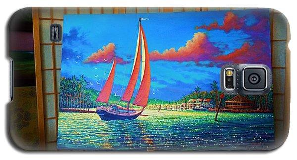 Moonlight Harbor  Ll Galaxy S5 Case