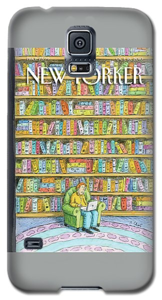 School Galaxy S5 Case - New Yorker October 18th, 2010 by Roz Chast