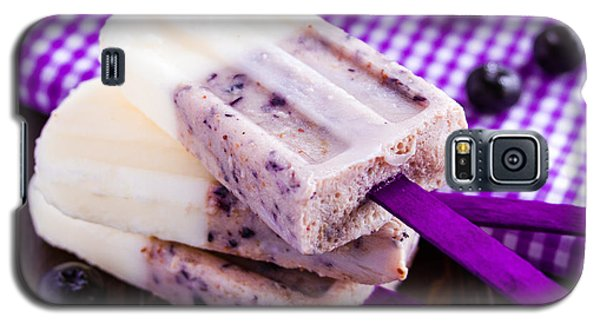 Vanilla And Blueberry Popsicles Galaxy S5 Case