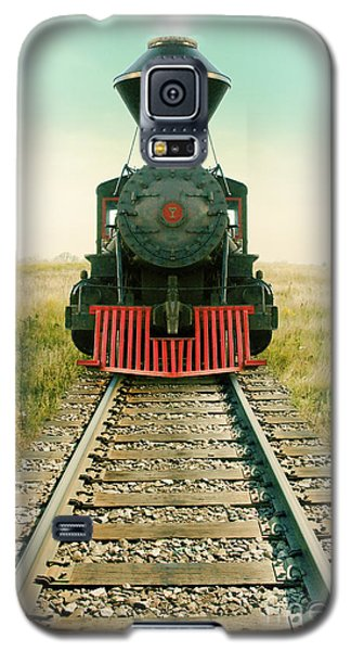 Vintage Train Engine Galaxy S5 Case