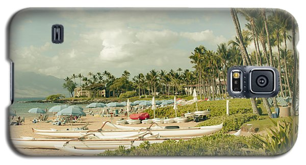 Wailea Beach Maui Hawaii Galaxy S5 Case by Sharon Mau