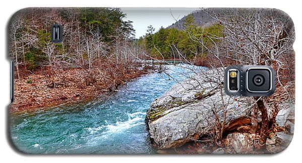 Galaxy S5 Case featuring the photograph White's Creek by Paul Mashburn