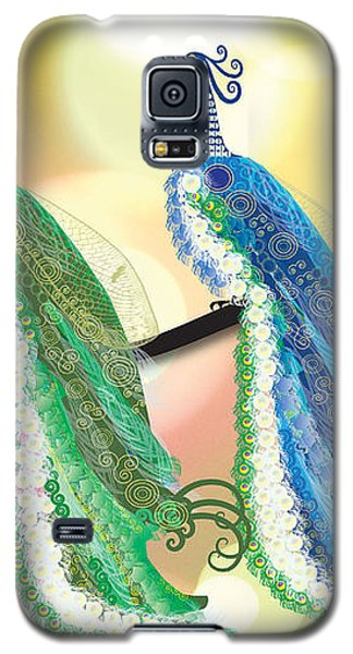 Visionary Peacocks Galaxy S5 Case by Kim Prowse
