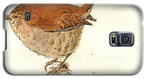 Wren Bird Galaxy S5 Case by Juan  Bosco