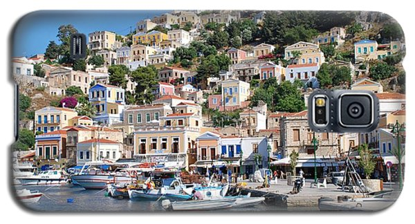 Yialos Harbour Symi Galaxy S5 Case
