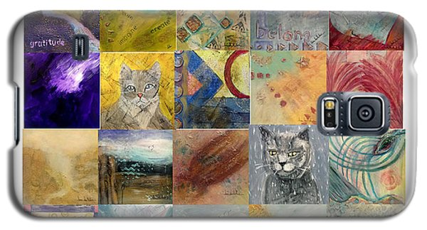 Galaxy S5 Case featuring the painting 30 In 30 Poster - Jan 2014 by Lou Belcher