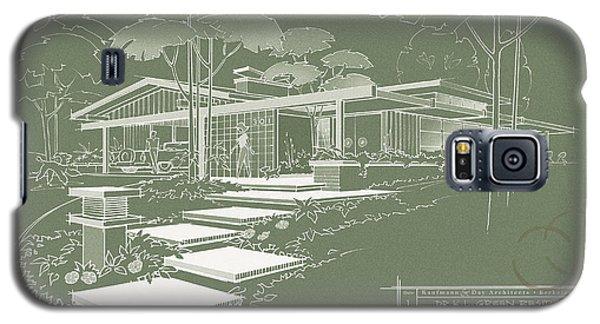 301 Cypress Drive - Moss Green Galaxy S5 Case