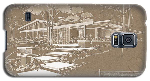 301 Cypress Drive - Sepia Galaxy S5 Case