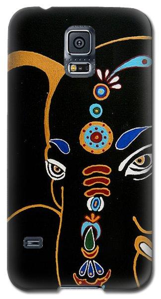 32 Gajakarna Ganesh Galaxy S5 Case by Kruti Shah