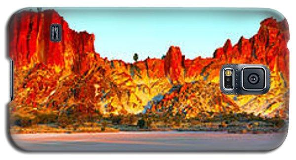 Rainbow Valley Galaxy S5 Case by Bill  Robinson