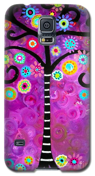 Tree Of Life Galaxy S5 Case by Pristine Cartera Turkus