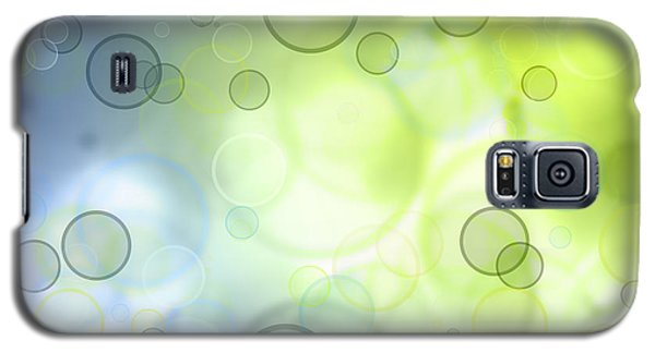 Abstract Background Galaxy S5 Case by Les Cunliffe