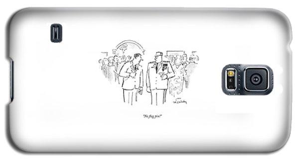 No Flag Pin! Galaxy S5 Case