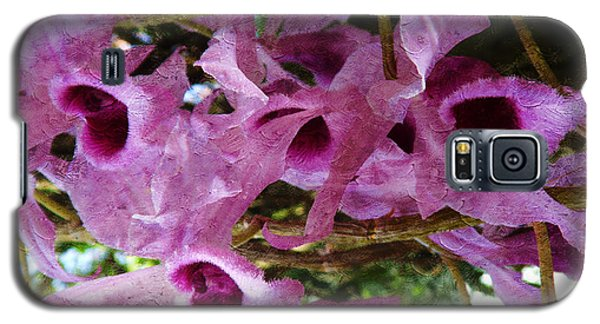 Purple Orchids Galaxy S5 Case