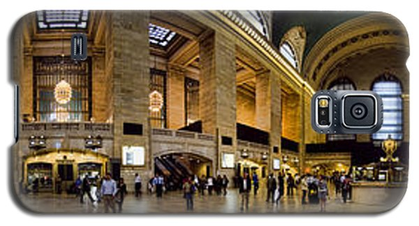 360 Panorama Of Grand Central Terminal Galaxy S5 Case by David Smith