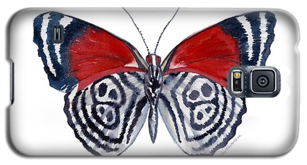 37 Diathria Clymena Butterfly Galaxy S5 Case
