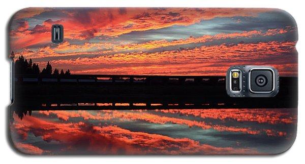 3d Sunset Galaxy S5 Case