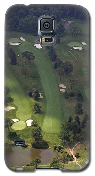 3rd Hole Sunnybrook Golf Club 398 Stenton Avenue Plymouth Meeting Pa 19462 1243 Galaxy S5 Case by Duncan Pearson