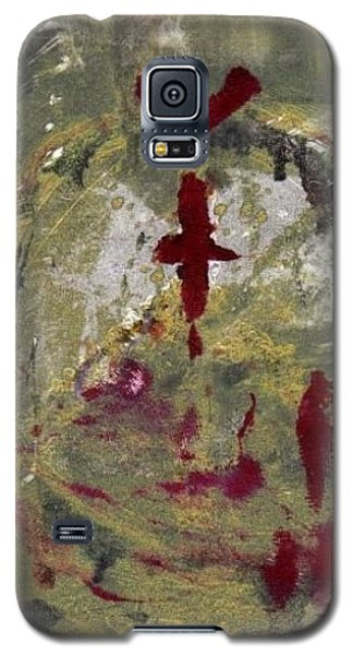 Galaxy S5 Case featuring the painting 3rd Peace by Lesley Fletcher