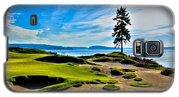 #15 At Chambers Bay Golf Course - Location Of The 2015 U.s. Open Tournament Galaxy S5 Case