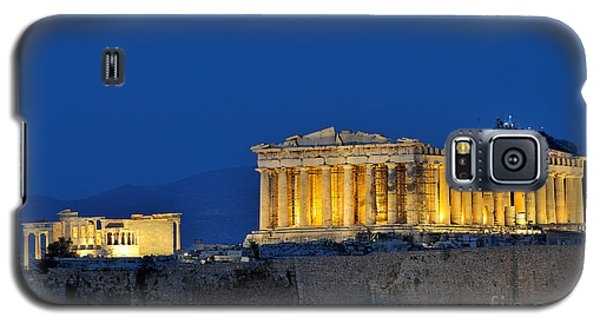 Acropolis Of Athens During Dusk Time Galaxy S5 Case