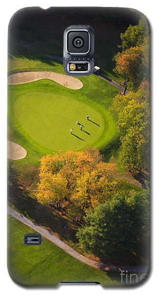 Aerial Image Of A Golf Course. Galaxy S5 Case