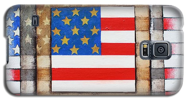 American Flag Galaxy S5 Case by Steve  Hester