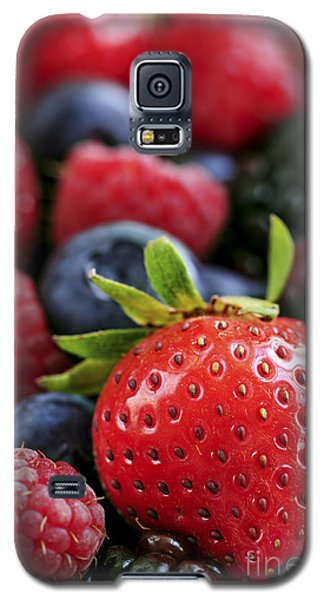 Assorted Fresh Berries Galaxy S5 Case