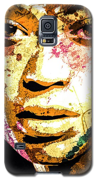 Galaxy S5 Case featuring the digital art Beyonce by Svelby Art