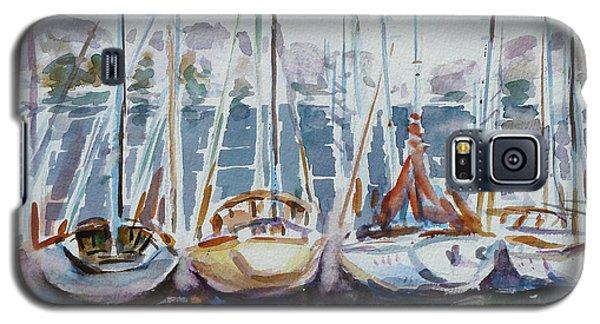 4 Boats Galaxy S5 Case