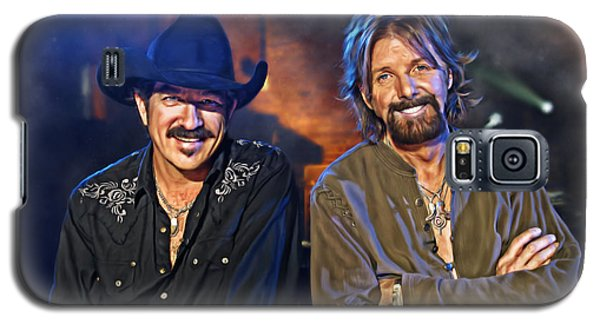 Brooks And Dunn Galaxy S5 Case by Don Olea