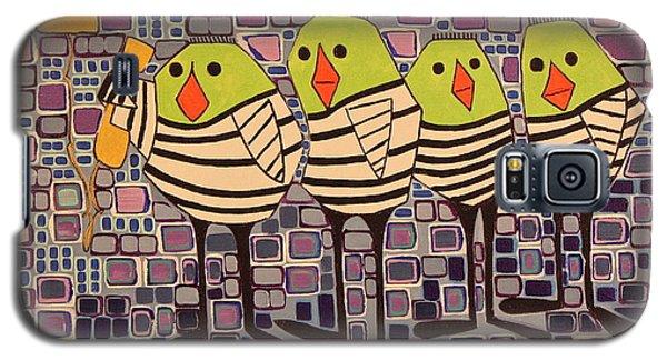 4 Calling Birds Galaxy S5 Case