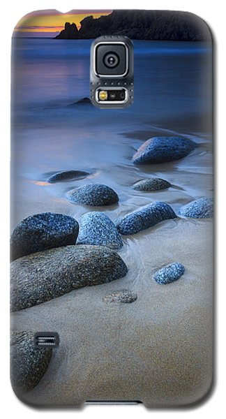 Galaxy S5 Case featuring the photograph Campelo Beach Galicia Spain by Pablo Avanzini