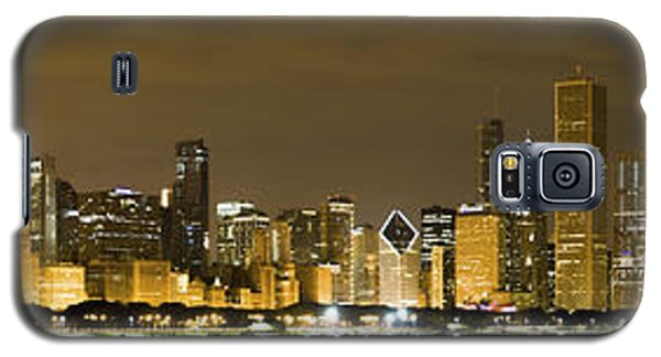 Chicago Skyline At Night Galaxy S5 Case