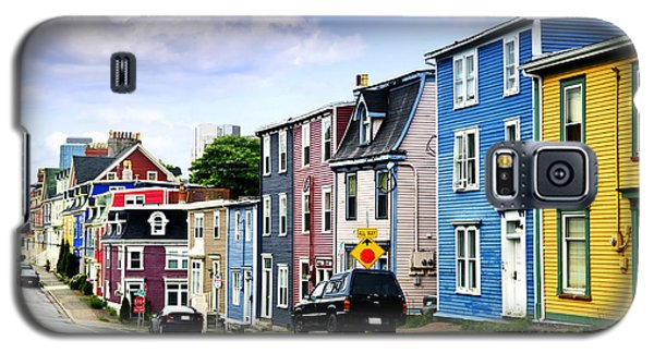 Town Galaxy S5 Case - Colorful Houses In St. John's by Elena Elisseeva