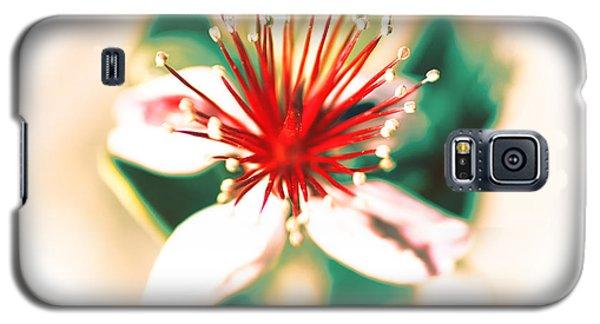 Galaxy S5 Case featuring the photograph Flower by Gunter Nezhoda