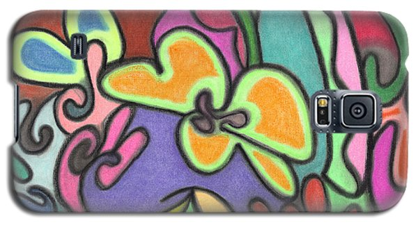 Fluid Flowers Galaxy S5 Case