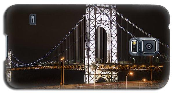 George Washington Bridge On President's Day Galaxy S5 Case