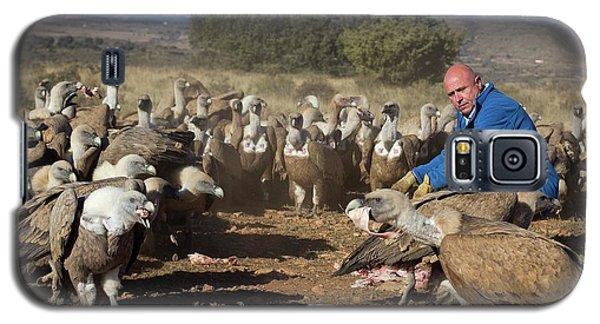 Griffon Vulture Conservation Galaxy S5 Case by Nicolas Reusens
