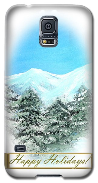 Happy Holidays. Best Christmas Gift Galaxy S5 Case