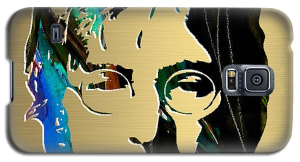 John Lennon Gold Series Galaxy S5 Case by Marvin Blaine
