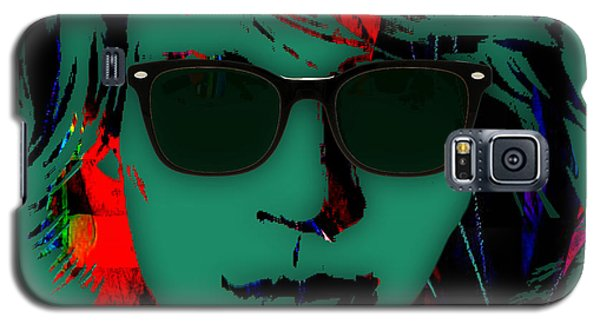 Jon Bon Jovi Collection Galaxy S5 Case by Marvin Blaine
