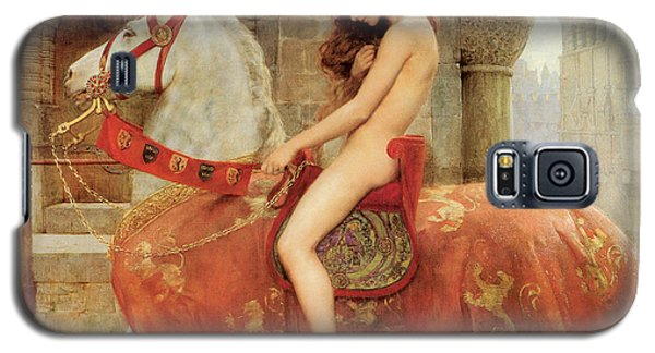 Galaxy S5 Case featuring the painting Lady Godiva by John Collier
