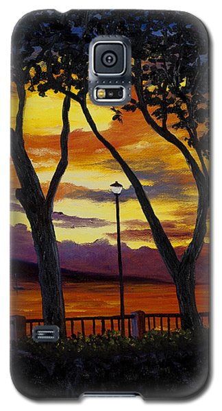 Lahaina Sunset Galaxy S5 Case